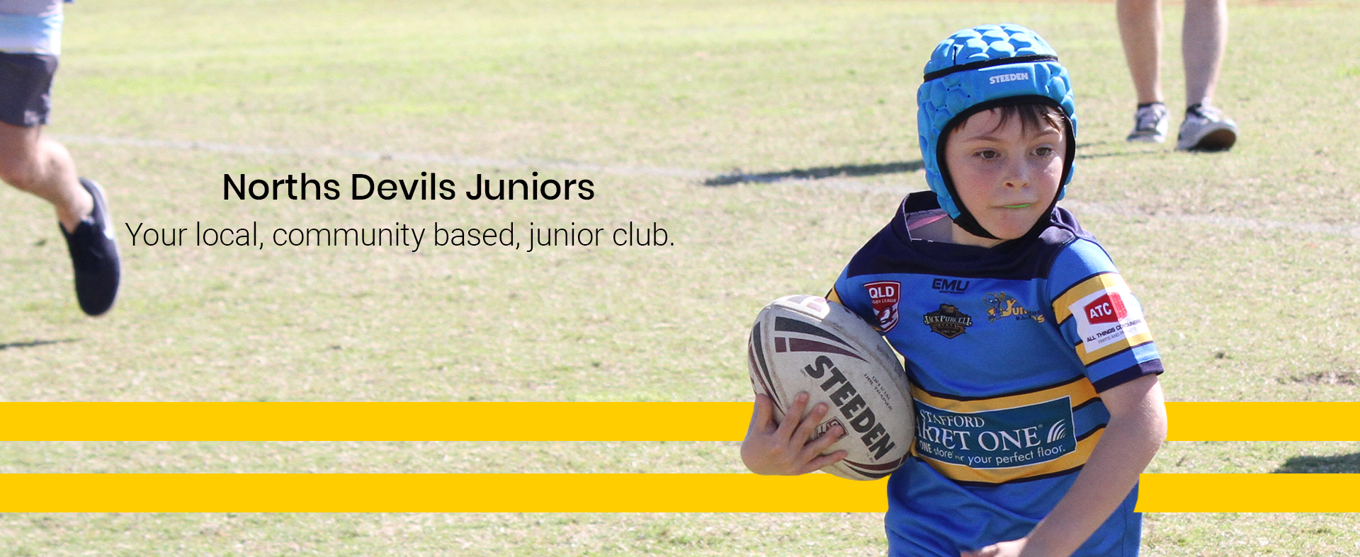 Norths Juniors Rugby League Header Image